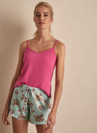 Comfort & Co. - Printed Shorts Pyjama Set, Pink