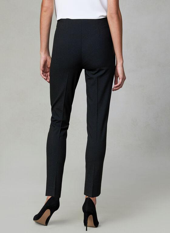 Amber Fit Slim Leg Pants, Black, hi-res