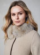 Mallia - Wool Blend Coat, Off White