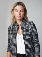 Jacquard Jacket , Black