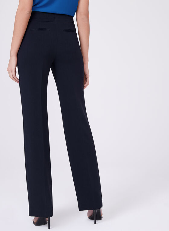 Louben -  Tailored Triacetate Blend Pants, Blue, hi-res