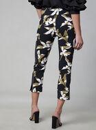 Bengaline Capri Pants, Black, hi-res
