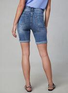 Frank Lyman – Embroidered Denim Shorts, Blue, hi-res