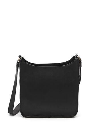 Studded Crossbody Bag, Black, hi-res