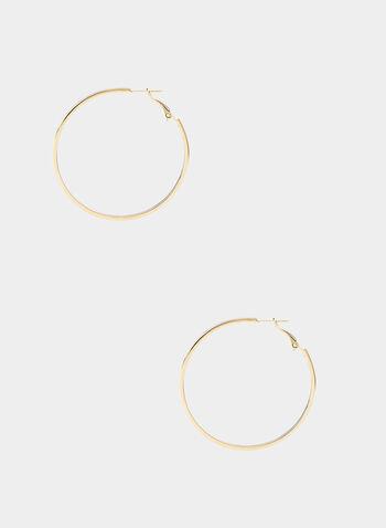 Hoop Earrings, Purple,  hoop earnings, fall 2019