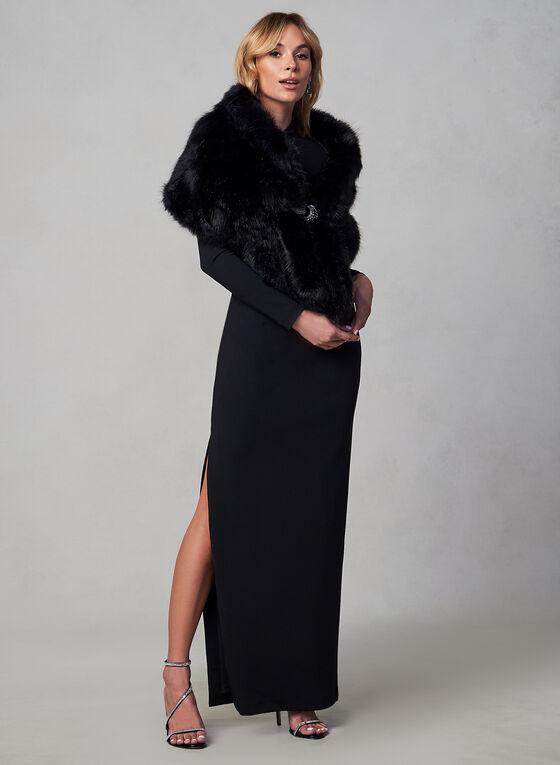 Vince Camuto - Crepe Dress, Black, hi-res