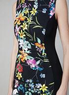 Joseph Ribkoff - Robe fourreau à fleurs, Noir, hi-res