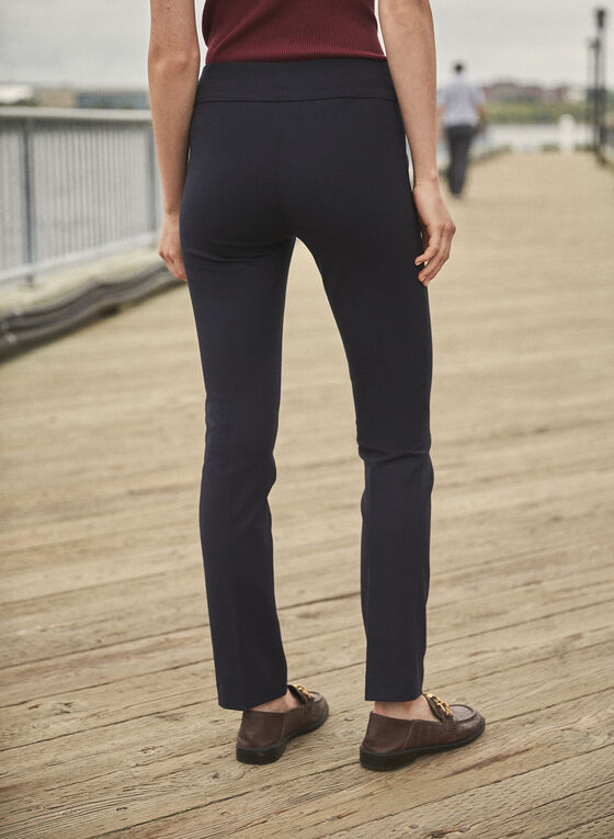 Madison Slim Leg Pants , Blue