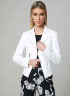 Vex - Faux Leather Jacket, Off White, hi-res