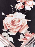 Vince Camuto - Rose Print Scarf, Black, hi-res