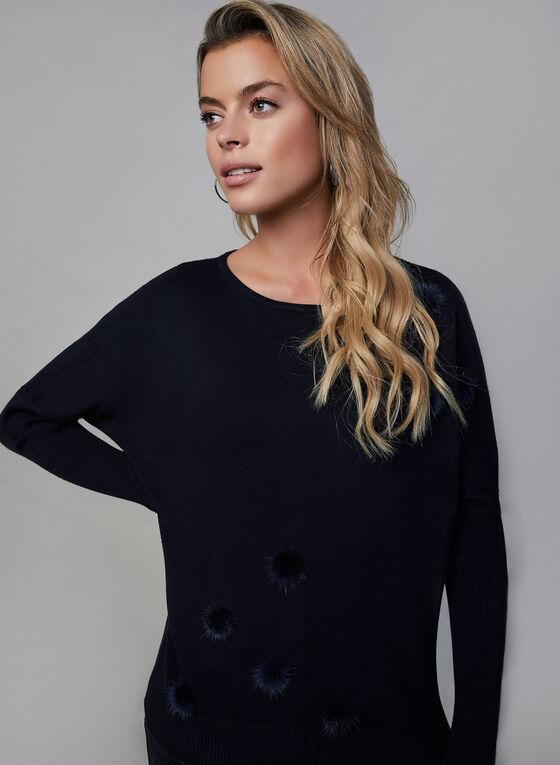 Vex - Pompom Sweater, Blue