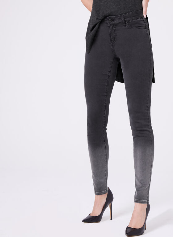 Super Soft Slim Leg Jeans, Black, hi-res