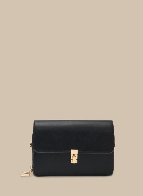 Pochette cartable zippée, Noir