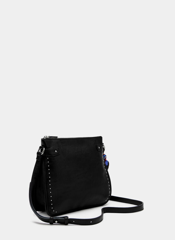 Joseph Ribkoff - Studded Crossbody Bag, Black, hi-res