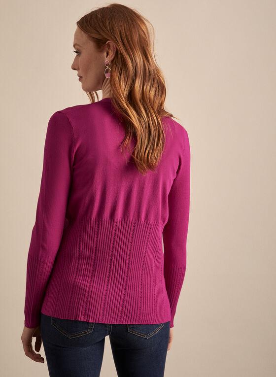 Short Open Front Cardigan , Pink