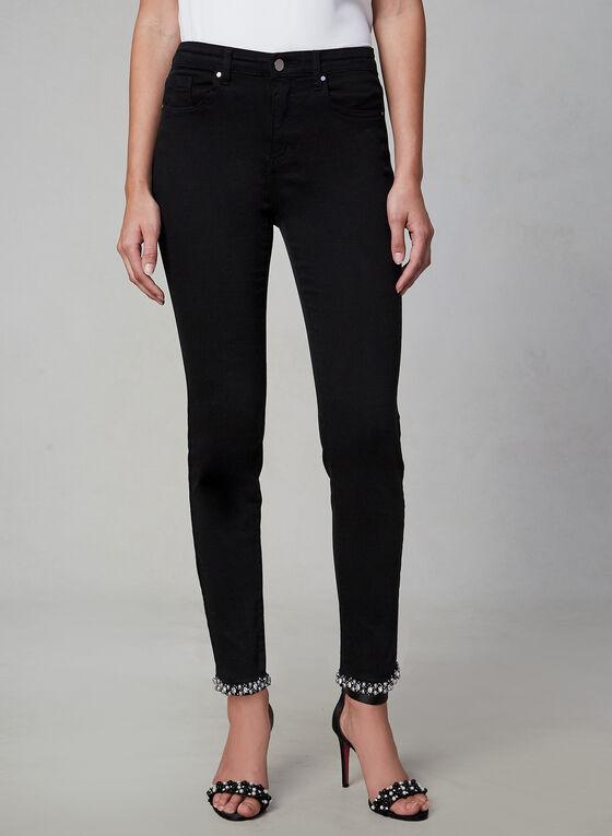 Frank Lyman - Slim Leg Jeans, Black, hi-res