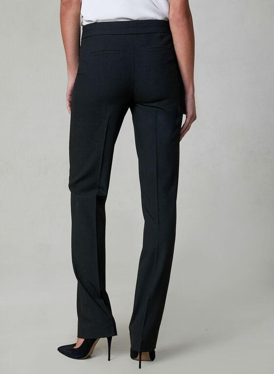 Lauren Fit Straight Leg Pants, Black, hi-res