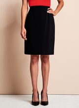 Louben - Pencil Skirt, Black, hi-res