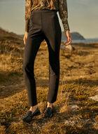 Pantalon à enfiler à jambe étroite, Noir
