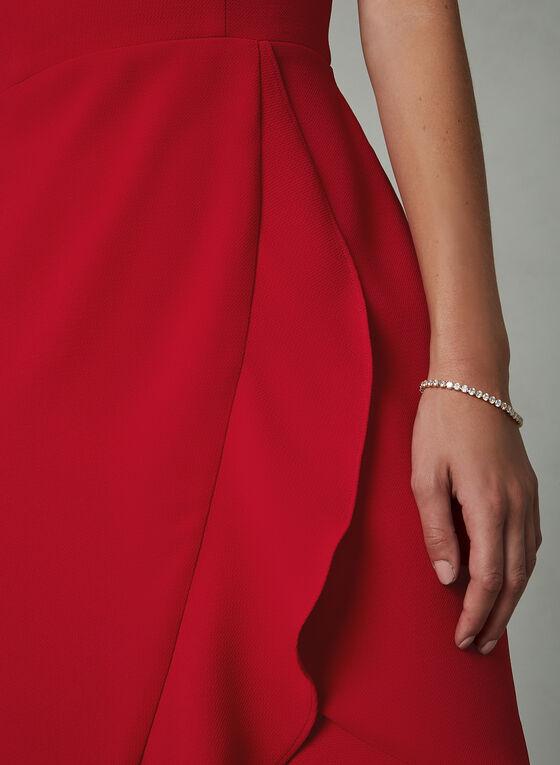BA Nites - Robe style portefeuille à bretelles, Rouge