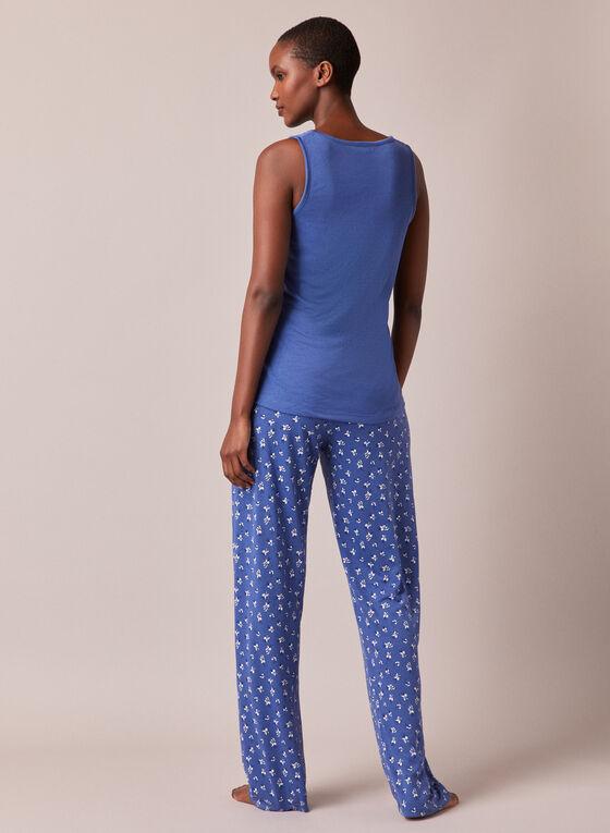 Three Piece Pyjama Set, Blue