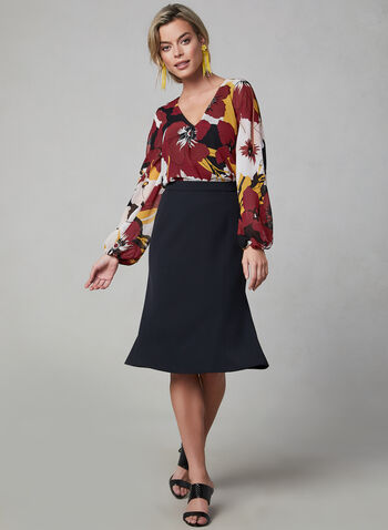 Trumpet Skirt, Black, hi-res,  skirt, trumpet, fall 2019