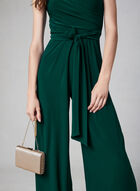 Joseph Ribkoff - Wide Leg Jumpsuit, Green, hi-res