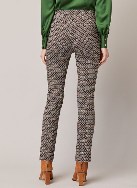 Chapter One - Graphic Print Pants, Black