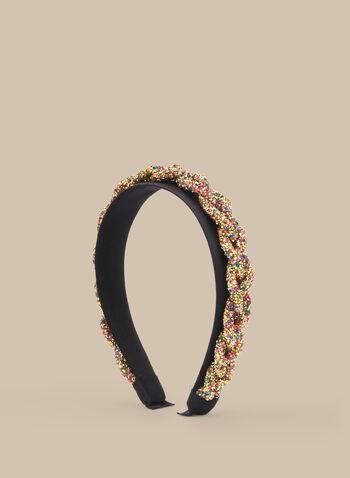 Multi-Coloured Stone Headband, Multi,  hair accessory, headband, stones, spring 2020, summer 2020