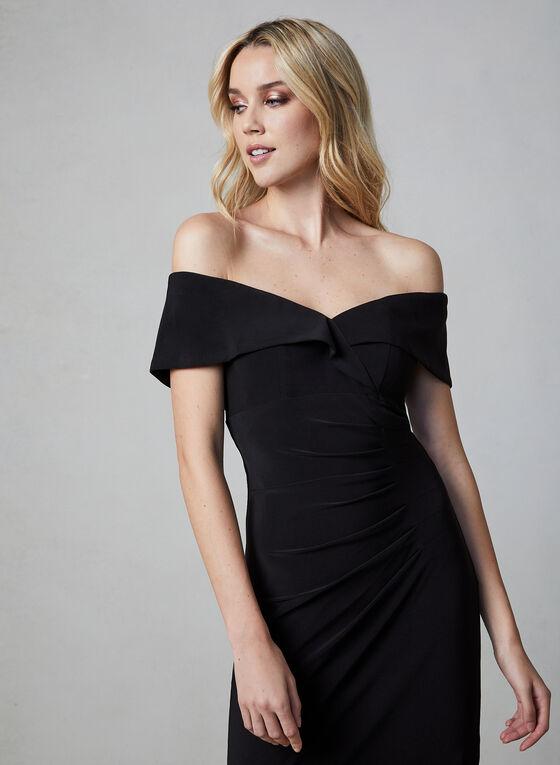 BA Nites - Off-the-Shoulder Dress, Black