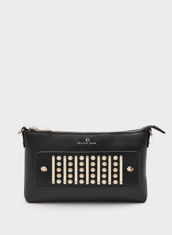 Céline Dion - Faux-Leather Clutch, Black, hi-res