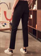 Pantalon Amber coupe tailleur, Noir
