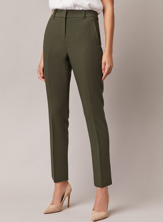 Giselle Slim Leg Pants, Green