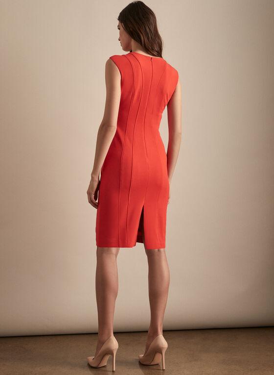Vince Camuto - Cap Sleeve Sheath Dress, Red