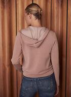 Zip Front Hoodie, Pink