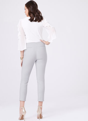 Amber Ankle Length Pants, Silver, hi-res