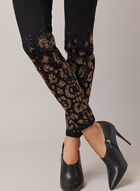 Jeans étroit à détails rivets, Noir