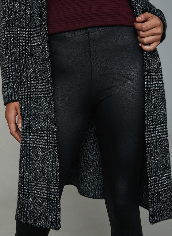 Compli K - Legging en faux cuir craquelé, Noir, hi-res