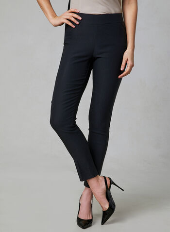Pantalon pull-on Ultra Tech, Noir, hi-res