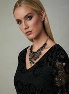 Frank Lyman - Velvet Lace Dress, Black, hi-res
