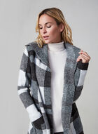 Alison Sheri – Colour Block Knit Cardigan, Grey