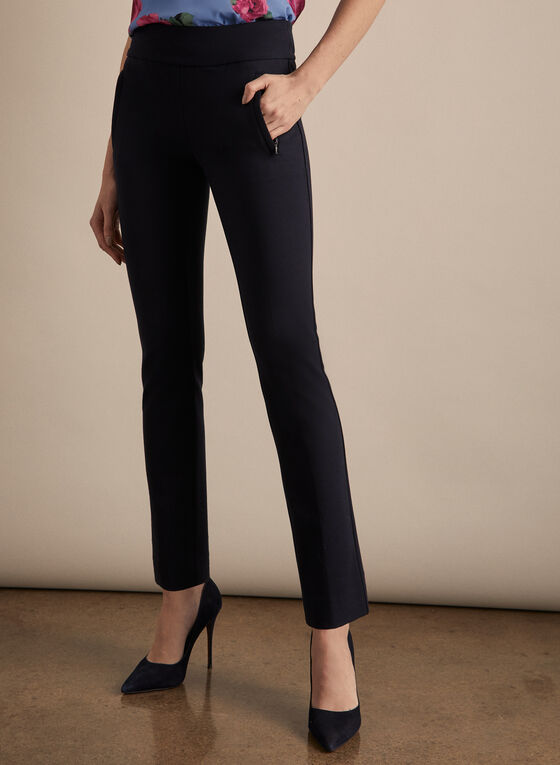 Madison Slim Leg Pants , Blue
