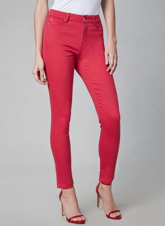 Slim Leg Jeans, Pink