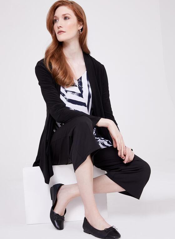 Compli K - Jupe-culotte pull-on en jersey, Noir, hi-res