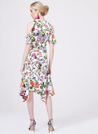 Maggy London - Floral Print Cold Shoulder Dress, Multi, hi-res