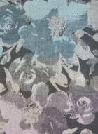 Knit Fringe Scarf, Grey, hi-res