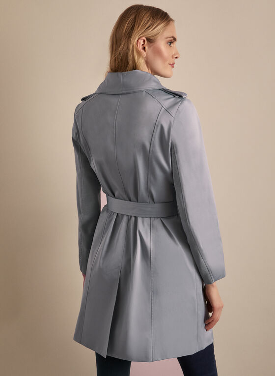 BCBGeneration - Belted Trenchcoat, Blue