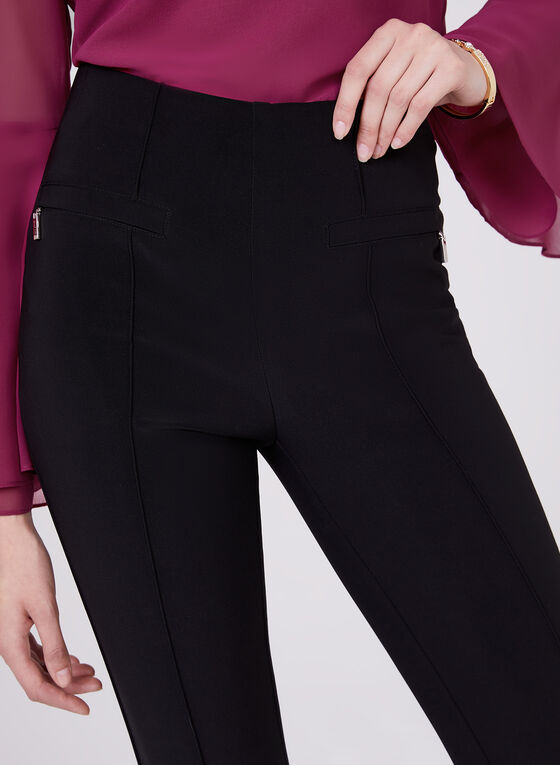 Joseph Ribkoff – Silky Tapered Pull On Pants, Black, hi-res