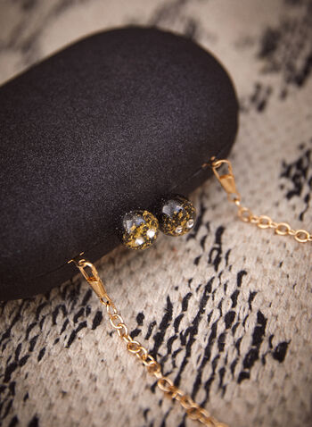 Marble Detail Evening Clutch, Black,  made in canada, fall 2021, accessory, clutch, evening clutch, bag, purse, oval shape, marble, magnet closure, magnets, shimmering, glitter, metallic, chain, removable chain
