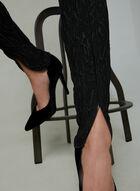 Joseph Ribkoff - Slim Leg Jacquard Pants, Black, hi-res